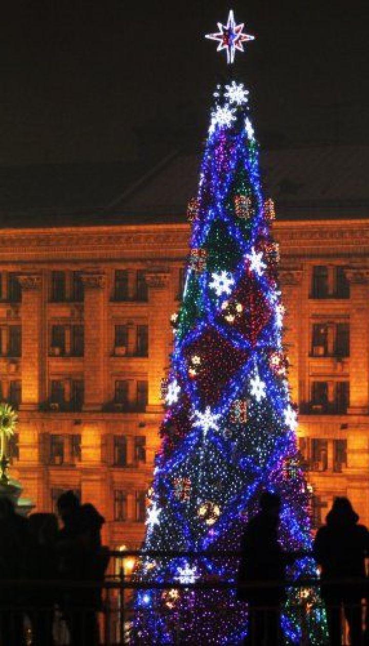 фото: Гонтар Владимир/ Киев. Новогодняя елка 2008 @ УНІАН