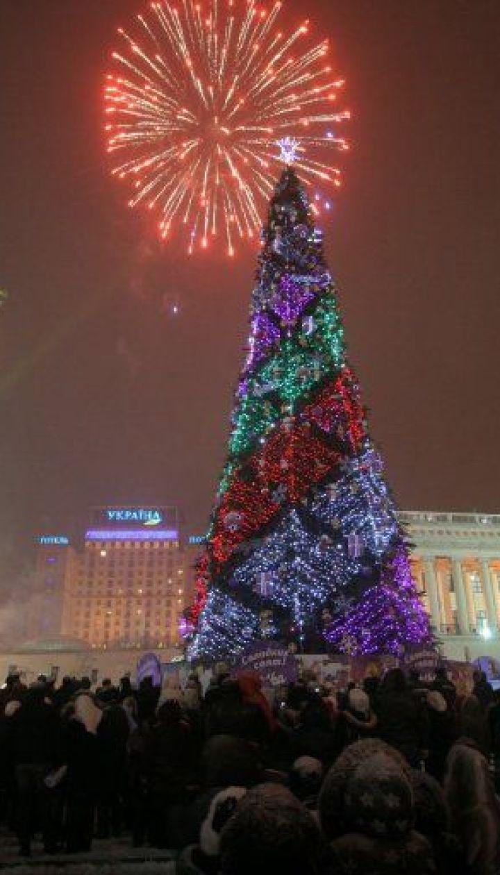 Киев. Новогодняя елка 2009 @ УНІАН