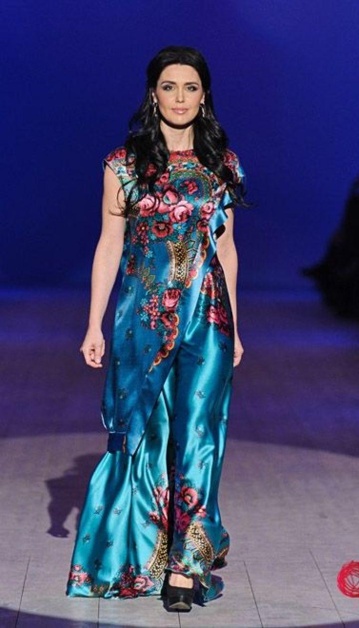 "Спецпроект канала ""1+1"" Fashion в прямом эфире, Людмила Бабир @ fashionweek.ua"