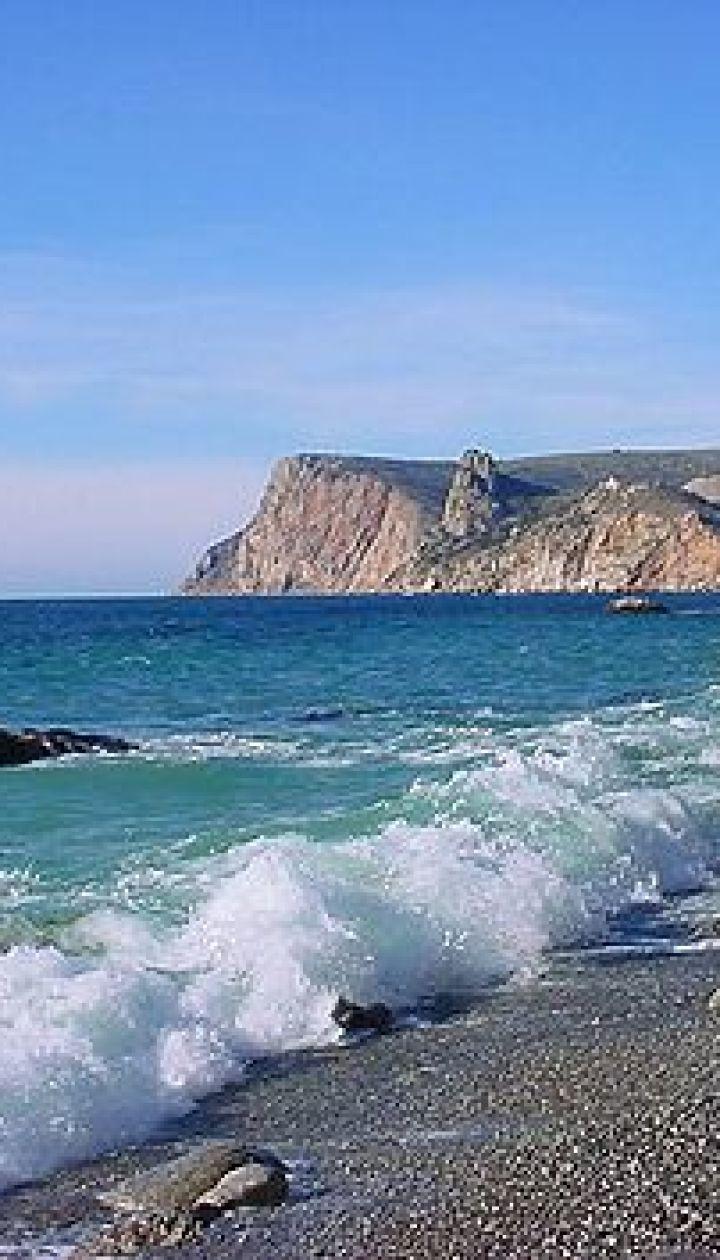 Серебряный пляж в Балаклаве