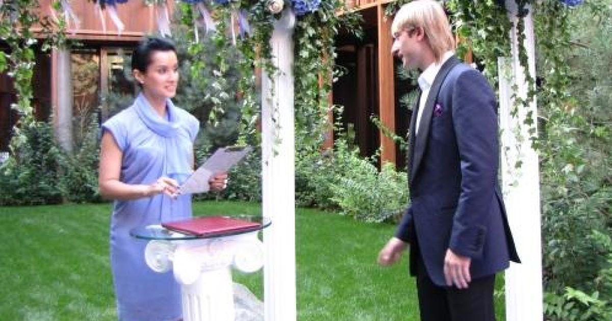 Тина Канделаки провела церемонию бракосочетания @ tv.ua