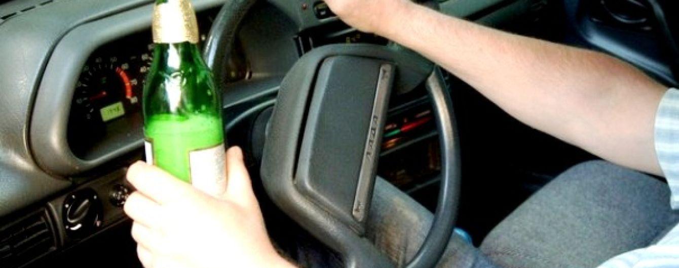 В Украине с начала года зафиксировано более 30 тысяч пьяных за рулем
