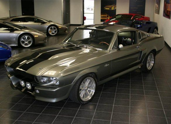 Ford Mustang Shelby GT500 1967 года
