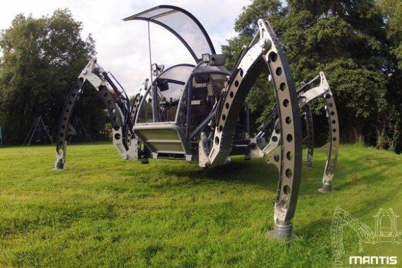 Робот-вездеход Mantis
