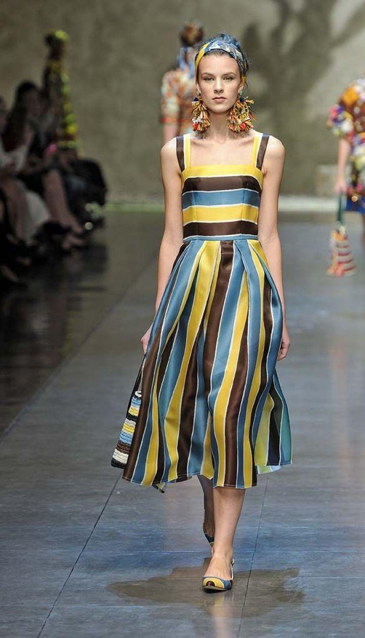Dolce & Gabbana прет-а-порте сезона весна-лето 2013 @ East News