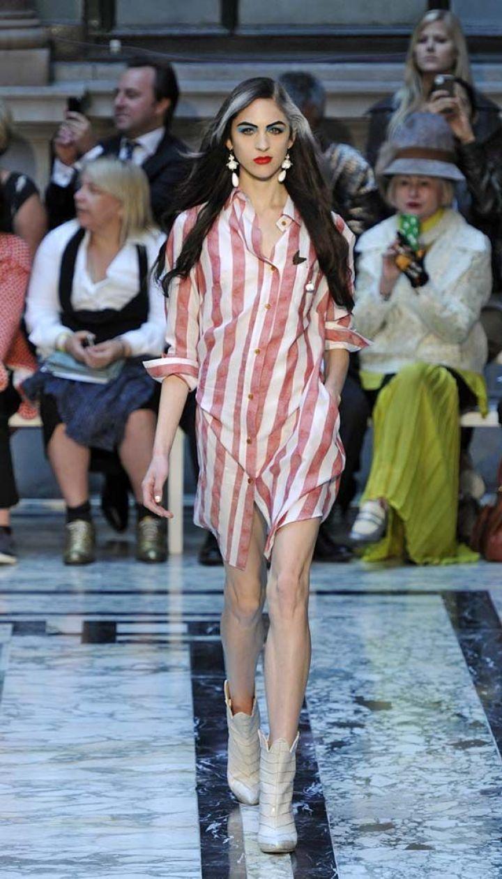 Vivienne Westwood прет-а-порте весна-лето 2013 @ East News