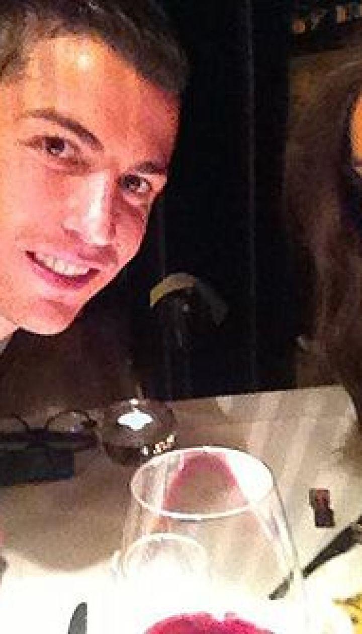 Ирина Шейк и Криштиану Роналду - ужин на днях