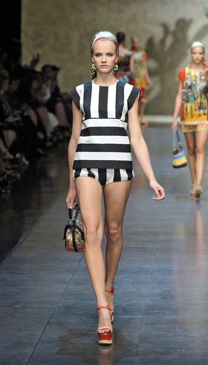 Dolce&Gabbana прет-а-порте весна-лето 2013 @ East News