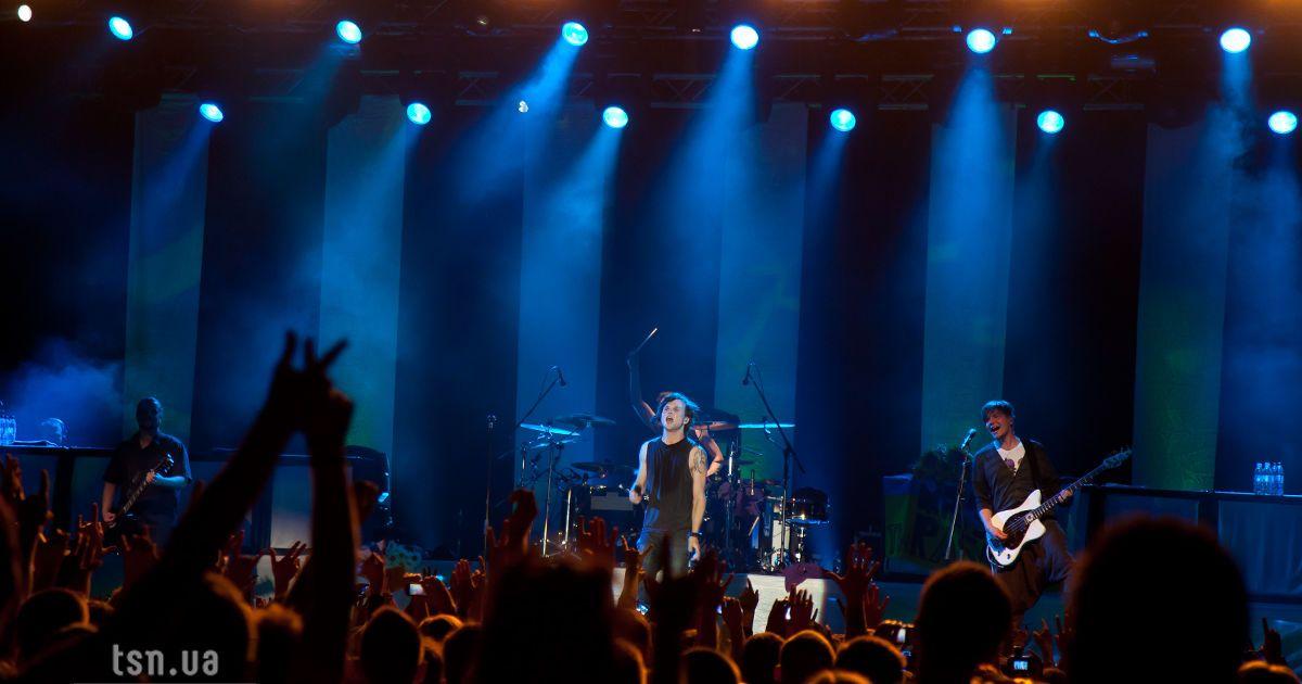 У Києві вдруге виступив фінський гурт The Rasmus @ ТСН.ua