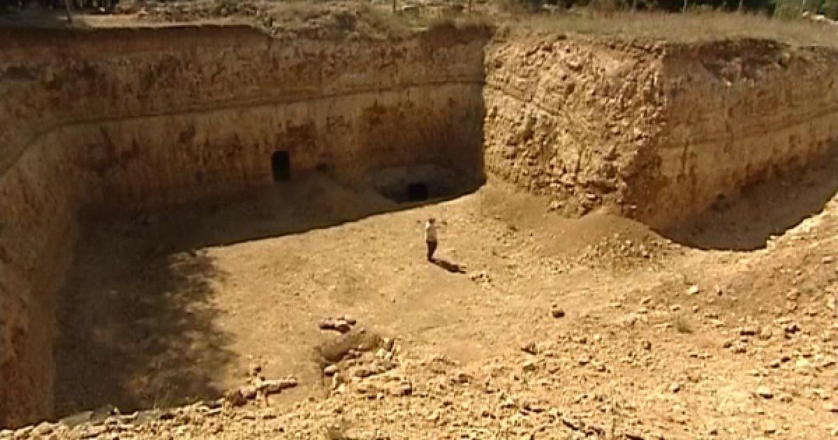 фото крымские подземные пирамиды