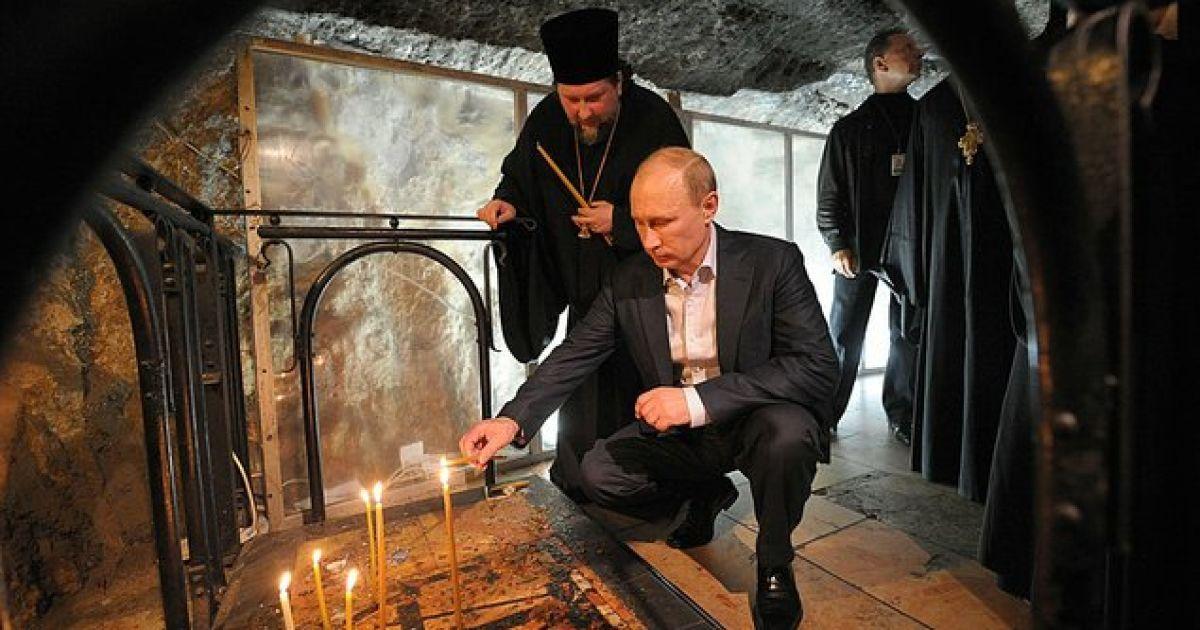 Картинки по запросу путин в киевской лавре фото