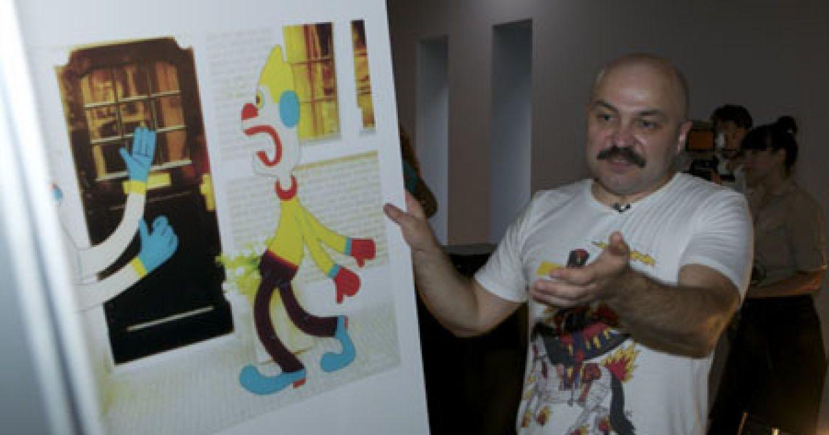 Роботи Катихіна вражають барвами і розмірами (Фото: VIP.glavred)