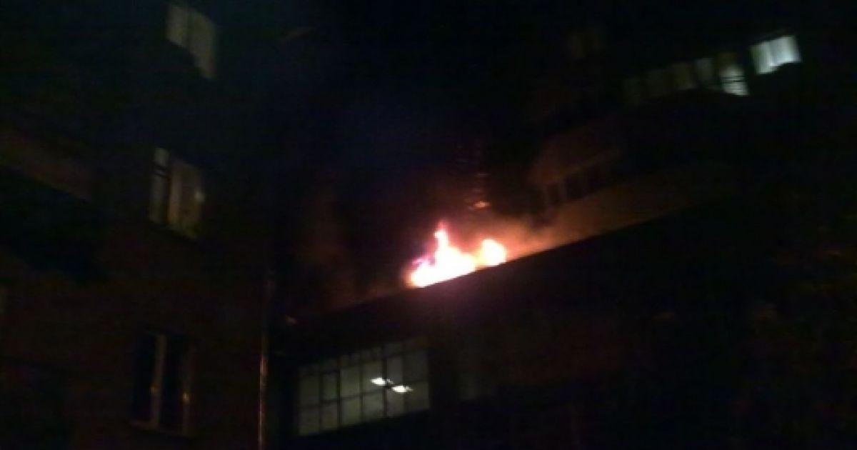 Пожар на Гетьмана, вероятнее всего, устроил неосторожный курильщик @ inthestands.co.uk