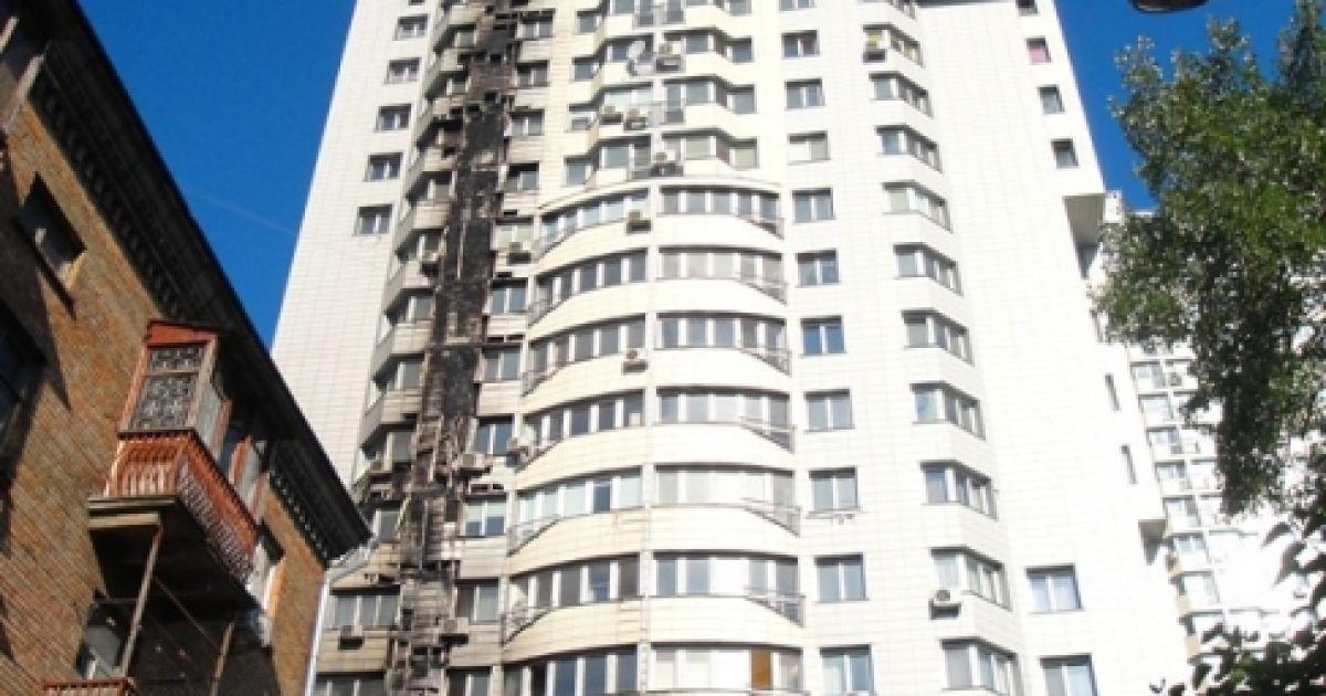 Пожар на Гетьмана, вероятнее всего, устроил неосторожный курильщик @ прес-служба МНС Києва