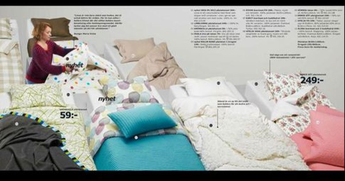 IKEA стерла жінок зі свого каталогу @ dance.ct.fm