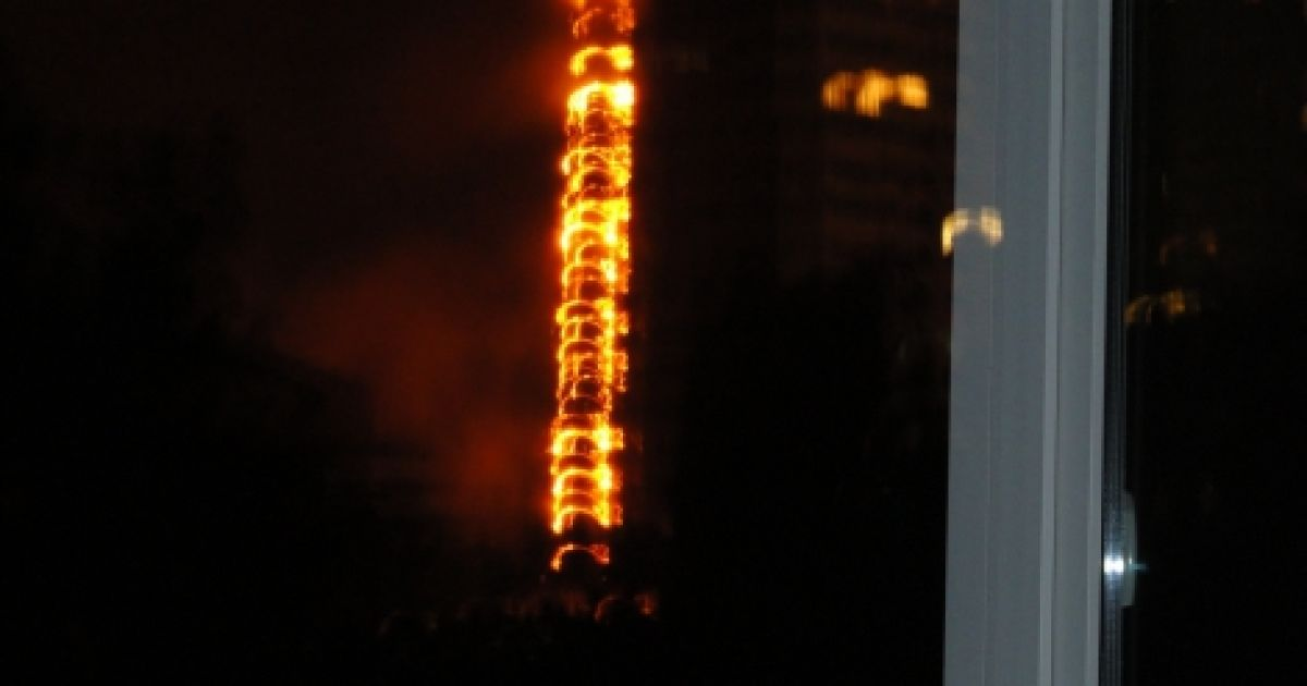 Пожар на Гетьмана, вероятнее всего, устроил неосторожный курильщик @ FC Dnipro