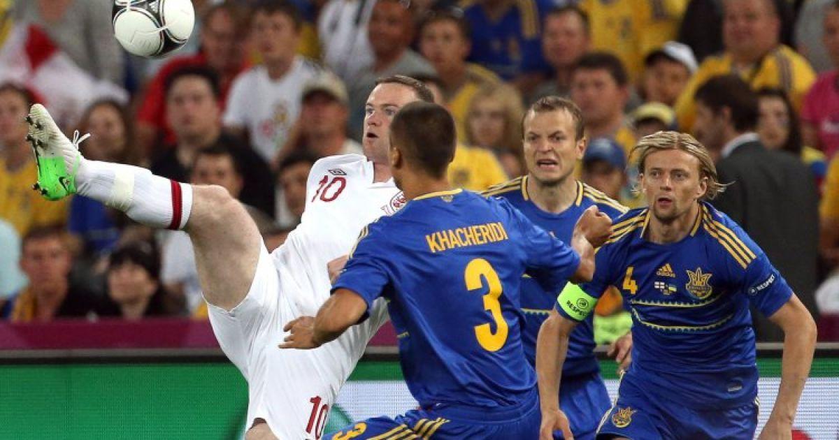 """Україна поступилася англійцям на """"Донбас-Арені"""" @ УНІАН"""