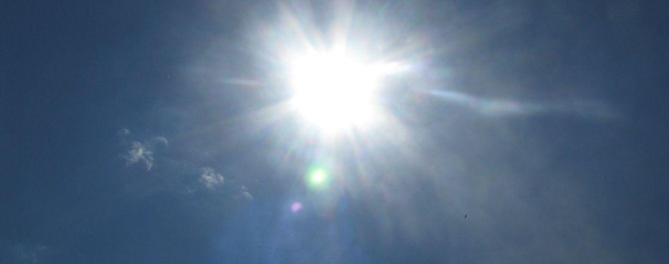 В Киеве зафиксировали двухсотлетний температурный рекорд