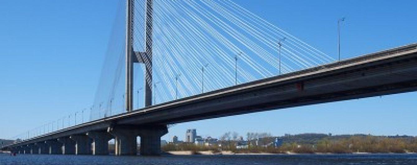 В Киеве частично перекроют Южный мост в воскресенье