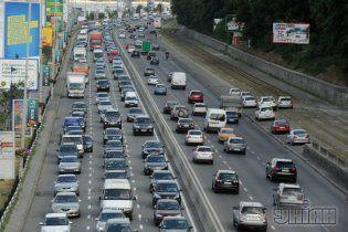У Києві весь транспорт зупинять на одну хвилину
