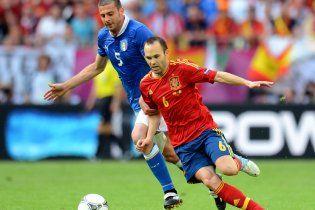 Іспанія - Італія - 1:1. Мирова битва титанів