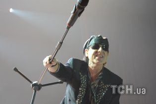 Scorpions прощались с украинской публикой лучшими хитами