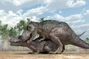 Секс динозавров з человеком
