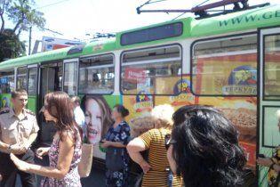 Мисливець підірвав трамвай в Дніпропетровську