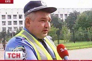 ГАИ просит киевских водителей держаться подальше от центра города