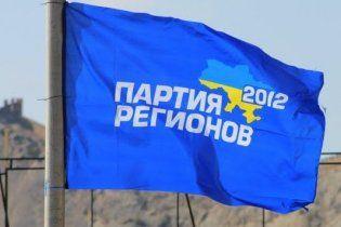 Крым занял третье место по количеству голосов за Партию регионов