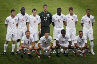 Футболістів збірної Англії змусять жити за Кодексом поведінки
