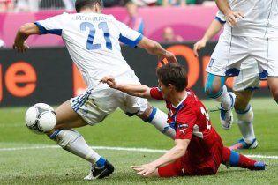 Греція - Чехія - 1:2. Супершвидкі чехи