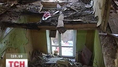 Жители разрушенного взрывом дома в Днепропетровске до сих пор остаются без жилья