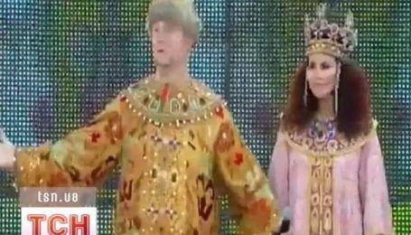 Потап і Настя стали князем і княгинею