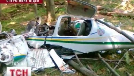 Пограничный самолет разбился в Закарпатье