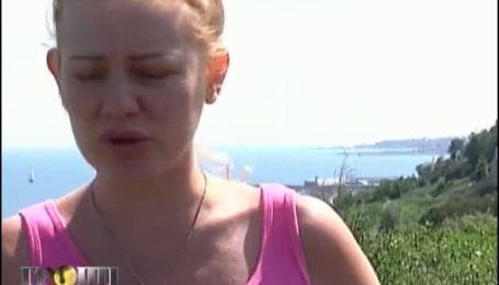 В Одессе на берегу моря дома съезжают в пропасть