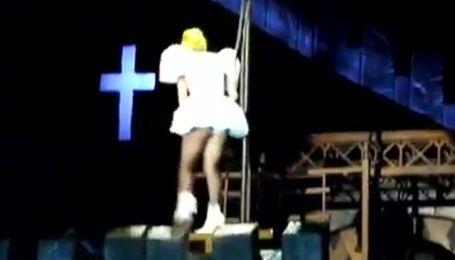 Lady GaGa отримала струс мозку під час концерту