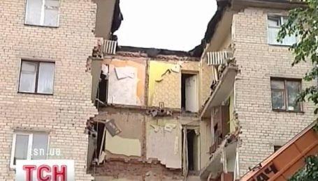 В Луцке обвалился дом