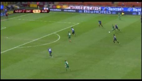 Интер - Рубин - 2:2. Обзор матча
