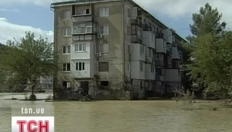 В Краснодарском крае России второе за это лето наводнение