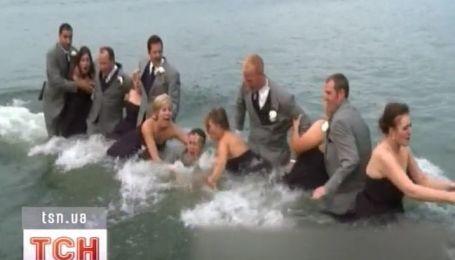 Свадебная вечеринка в Мичигане ушла под воду