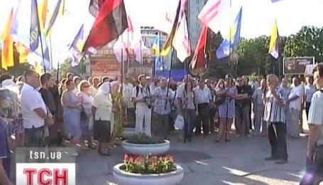 Акции в поддержку украинского языка продолжаются в основном на востоке и в центре