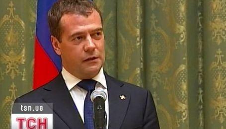 Дмитрий Медведев в Киеве