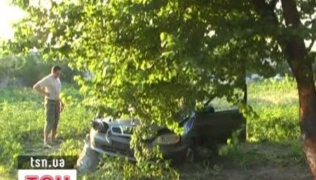 П'яний водій маршрутки протаранив легковик Daewoo