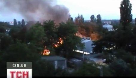 В Одессе сгорел ресторан
