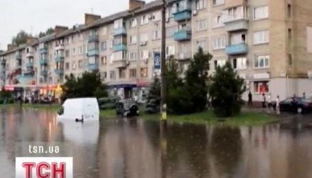 Большая вода и в Киеве