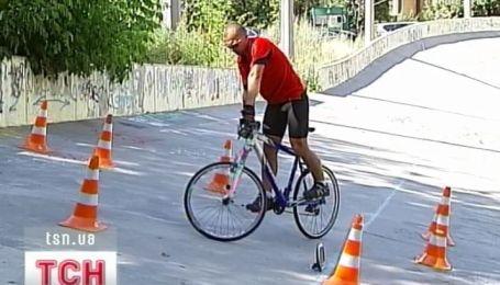 Рекорд украинского велосипедиста-любителя