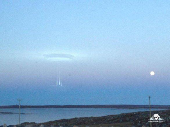 НЛО над Арктикою