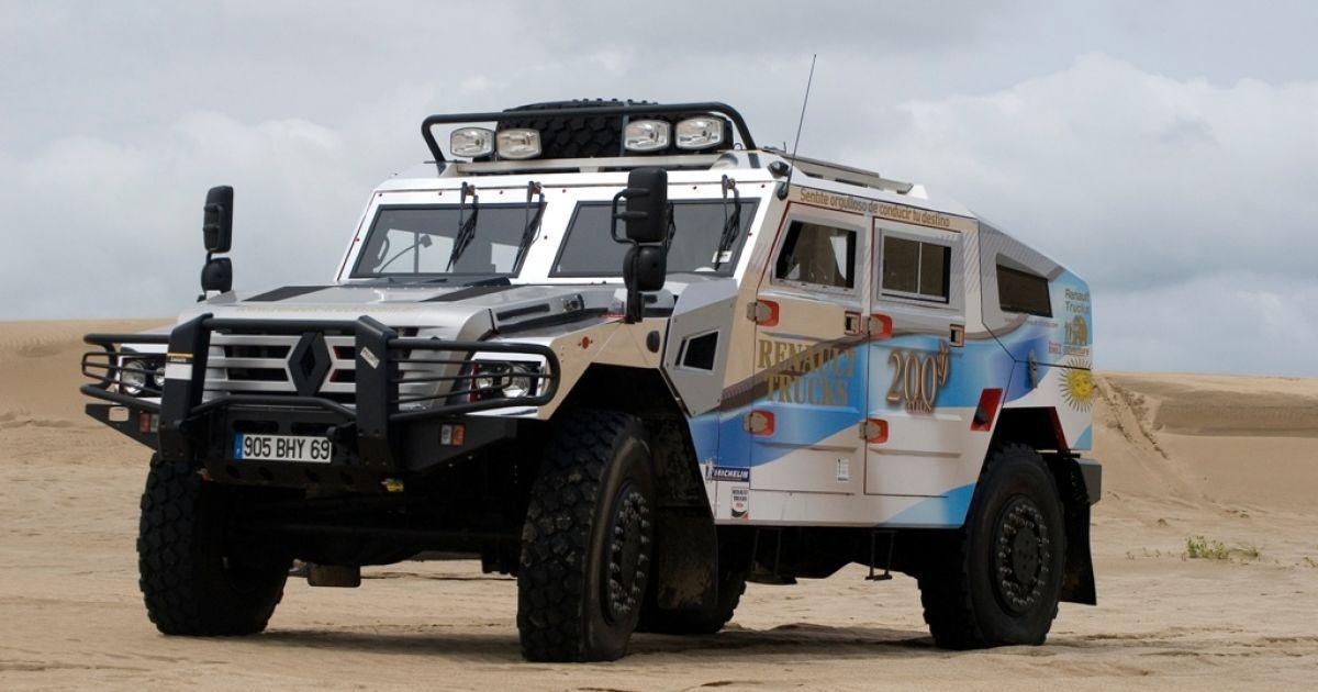 Стартовала сборка гражданского Renault Sherpa - Новости - TCH.ua 92b90aa2def