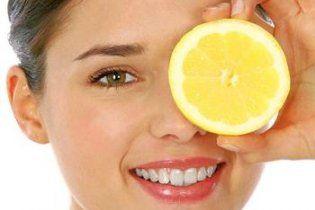 Лимон поможет избавиться от морщин